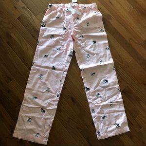 J. Crew PJ pants